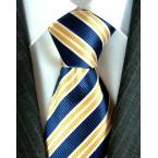 Luigi di Bartolomeo® Krawatte / Luxus- Seidenkrawatte, 100% Handgenäht, inkl. Seidensäcklein