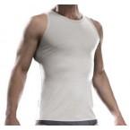 Luigi di Bartolomeo® Australisches Merino TankTop-Unterhemd (Farbe: Ivory)